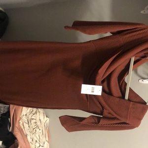 Mid dress from fashion nova